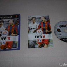 Videojuegos y Consolas: PS2 SONY PLAYSTATION 2 FIFA 11 COMPLETO. Lote 269467568