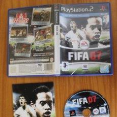 Videojuegos y Consolas: FIFA 07. PS2 EA SPORTS FUTBOL PLAYSTATION 2. Lote 269573013
