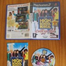 Videojuegos y Consolas: HIGH SCHOOL MUSICAL CANTA CON ELLOS. PS2 SINGSTAR DISNEY PLAYSTATION 2. Lote 269574213
