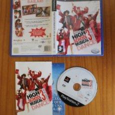 Videojuegos y Consolas: HIGH SCHOOL MUSICAL 3 FIN DE CURSO DANCE. PS2 SINGSTAR DISNEY PLAYSTATION 2. Lote 269574238
