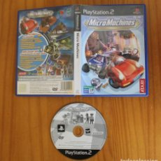 Videojuegos y Consolas: MICRO MACHINES. PS2 ATARI MICRO MACHINES PLAYSTATION 2. Lote 269574258
