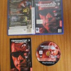 Videojuegos y Consolas: TERMINATOR 3 RISE OF THE MACHINES. PS2 ATARI PLAYSTATION 2. Lote 269574338