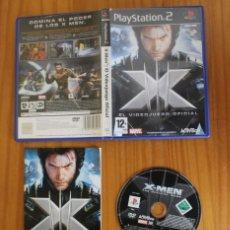 Videojuegos y Consolas: X-MEN EL VIDEOJUEGO OFICIAL. PS2 ACTIVISION PLAYSTATION 2. Lote 269574413