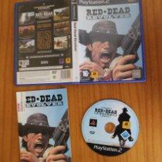 Videojuegos y Consolas: RED DEAD REVOLVER. PS2 ROCKSTAR PLAYSTATION 2. Lote 269574423