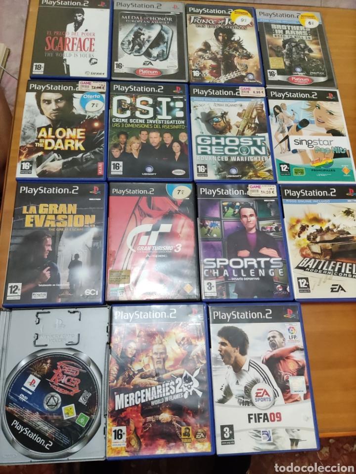 Videojuegos y Consolas: Lote ....... PS2.... - Foto 8 - 269941023