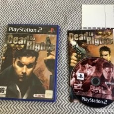 Videojuegos y Consolas: DEAD TO RIGHTS. PLAY STATION 2 PS2 COMPLETO. Lote 269942028