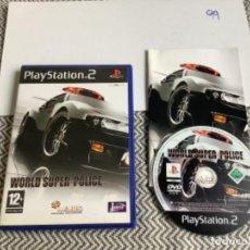 Videojuegos y Consolas: JUEGO PLAY STATION 2 PS2 WORLD SÚPER POLICE. Lote 269994413