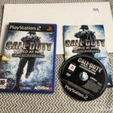Videojuegos y Consolas: JUEGO PLAY STATION 2 PS2 CALL OF DUTY WORLD AT WAR. Lote 269996868