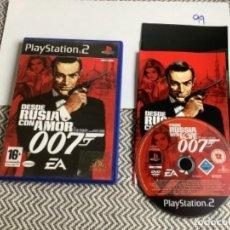 Videojuegos y Consolas: JUEGO PLAY STATION 2 PS2 DESDE RUSIA CON AMOR 007. Lote 269998748