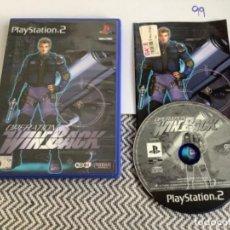 Videojuegos y Consolas: JUEGO PLAY STATION 2 PS2 OPERATION WINBACK. Lote 270111188