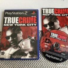 Videojuegos y Consolas: JUEGO PLAY STATION 2 PS2 TRUE CRIME NEW YORK CITY. Lote 270111238