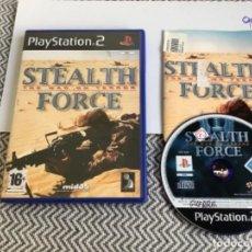Videojuegos y Consolas: JUEGO PLAY STATION 2 PS2 STEALTH FORCÉ THE WAR OR TERROR. Lote 270111363
