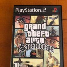 Videojuegos y Consolas: PLAY STATION 2 GTA SAN ANDREAS. Lote 270350133