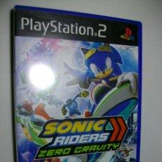 Videojuegos y Consolas: SONIC RIDERS ZERO GRAVITY JUEGO DE PS2. Lote 270625558
