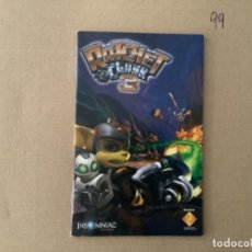 Videojuegos y Consolas: H10. MANUAL PLAY STATION 2 PS2 RATCHET & CLANK 3. PS2. Lote 270884968