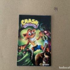 Videojuegos y Consolas: H10. MANUAL PLAY STATION 2 PS2 CRASH GUERRA AL COCO MANIACO PS2. Lote 270885658