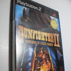 Videojuegos y Consolas: PS2 GUNFIGHTER II REVENGE OF JESSE JAMES. CON DISCO Y MANUAL (BUEN ESTADO). Lote 272742378