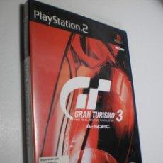 Videojuegos y Consolas: PS2 GRAN TURISMO 3, CON FICHA, SOLUCIONES, MANUAL Y DISCO (BUEN ESTADO). Lote 272957648