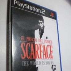 Videojuegos y Consolas: PS2 SCARFACE, CON MANUAL Y DISCO (BUEN ESTADO). Lote 272964643