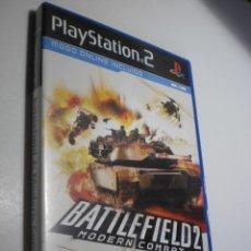 Videojuegos y Consolas: PS2 BATTLEFIELD 2 MODERN COMBAT, CON GUÍA DE PRODUCTOS, MANUAL Y DISCO (BUEN ESTADO). Lote 272969838