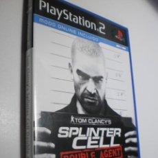 Videojuegos y Consolas: PS2 TOM CLANE'S SPLINTER CELL DOUBLE AGENT, CON SOLUCIONES, MANUAL Y DISCO (BUEN ESTADO). Lote 272974743
