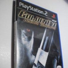 Videojuegos y Consolas: PS2 GOLDENEYE AGENTE CORRUPTO, CON MANUAL Y DISCO (BUEN ESTADO). Lote 272975703
