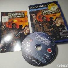 Videojogos e Consolas: COMMANDOS STRIKE FORCE ( PS2 - PLAYSTATION 2 - PAL - ESP). Lote 274683238
