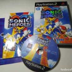 Videojuegos y Consolas: SONIC HEROES ( PS2 - PLAYSTATION 2 - PAL - UK) EN ESPAÑOL. Lote 288631368
