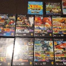 Videojuegos y Consolas: LOTE - PLAYSTATION 2 REVISTA OFICIAL ESPAÑA - DEMOS JUGABLES - METAL GEAR, ICO, TEKKEN 4. Lote 276213748