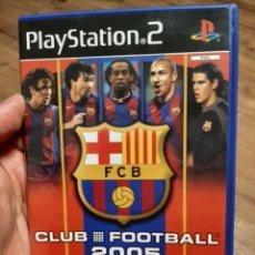 Videojuegos y Consolas: FCB 04/05 CLUB FOOTBALL PS2 MESSI ROOKIE. Lote 276584218