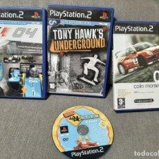 Videojuegos y Consolas: PACK CAJAS ,MANUALES Y JUEGO PS2 LEER. Lote 276590553