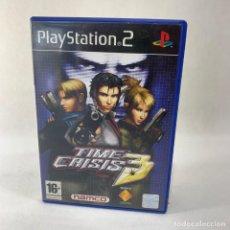 Videojuegos y Consolas: VIDEOJUEGO PLAY STATION 2 - PS2 - TIME CRISIS 3 + CAJA + INSTRUCCIONES. Lote 276702048