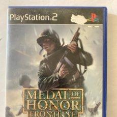 Videojuegos y Consolas: MEDAL OF HONOR FRONTLINE PS2 PLAYSTATION 2. Lote 277005023