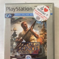 Videojuegos y Consolas: MEDAL OF HONOR RISING SUN PS2 PLAYSTATION 2. Lote 277008023