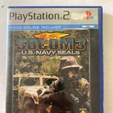 Videojuegos y Consolas: SOCOM 3 US NAVY SEALS PS2 PLAYSTATION 2. Lote 277008448