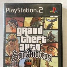 Videojuegos y Consolas: GRAND THEFT AUTO SAN ANDREAS PS2 PLAYSTATION 2. Lote 277011203