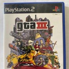 Videojuegos y Consolas: GTA III PS2 PLAYSTATION 2. Lote 277011948