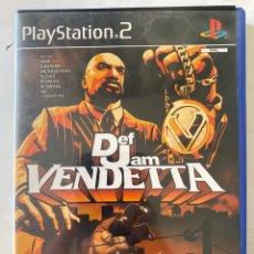 Videojuegos y Consolas: DEF JAM VENDETTA PS2 PLAYSTATION 2. Lote 277013298