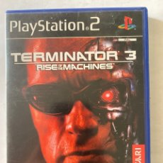 Videojuegos y Consolas: TERMINATOR 3 RISE OF THE MACHINES PS2 PLAYSTATION 2. Lote 277013763
