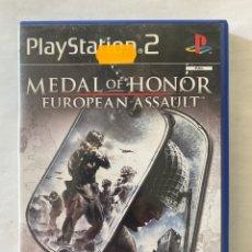 Videojuegos y Consolas: MEDAL OF HONOR EUROPEAN ASSAULT PS2 PLAYSTATION 2. Lote 277016418