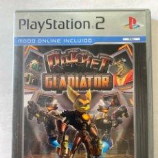 Videojuegos y Consolas: RATCHET GLADIATOR PS2 PLAYSTATION 2. Lote 277017188