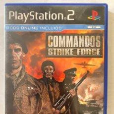 Videojuegos y Consolas: COMMANDOS STRIKE FORCE PS2 PLAYSTATION 2. Lote 277018503