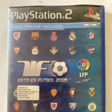 Videojuegos y Consolas: ESTO ES FUTBOL 2005 PS2 PLAYSTATION 2. Lote 277020248