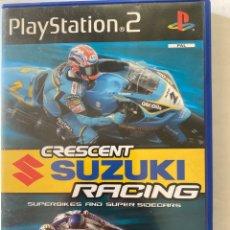 Videojuegos y Consolas: CRESCENT SUZUKI RACING PS2 PLAYSTATION 2. Lote 277024268