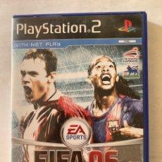 Videojuegos y Consolas: FIFA 06 PS2 PLAYSTATION 2. Lote 277024663