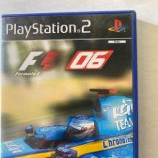 Videojuegos y Consolas: FORMULA ONE 06 PS2 PLAYSTATION 2. Lote 277026943