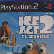 Videojuegos y Consolas: ICE AGE 2 EL DESHIELO. JUEGO PARA PS2. USADO, BUEN ESTADO. COMPLETO.. Lote 277049963