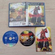 Videojuegos y Consolas: JUEGO PLAYSTATION 2 - PS2 - DEVIL MAY CRY 3 + DEMO MONSTER HUNTER. Lote 277091938