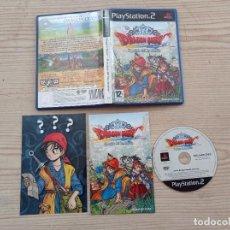 Videojuegos y Consolas: JUEGO PLAYSTATION 2 - PS2 - DRAGON QUEST - EL PERIPLO DEL REY MALDITO. Lote 277092068