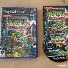 Videojuegos y Consolas: TORTUGAS NINJA BATTLENEXUS PS2 EN INGLÉS. Lote 277258003